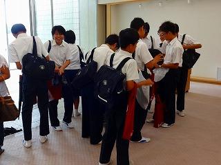 高等学校一日体験学習 (8月9~10日)
